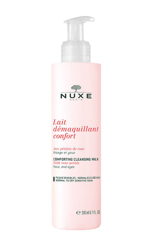 Nuxe Comfort Cleansing Milk with Rose Petals