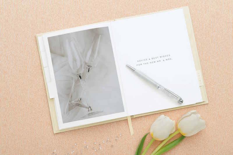新娘水晶日記本