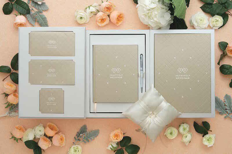 水晶裝飾婚禮紀念禮盒