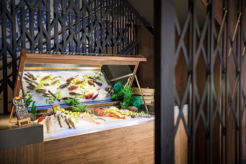 海鮮櫃台 seafood counter