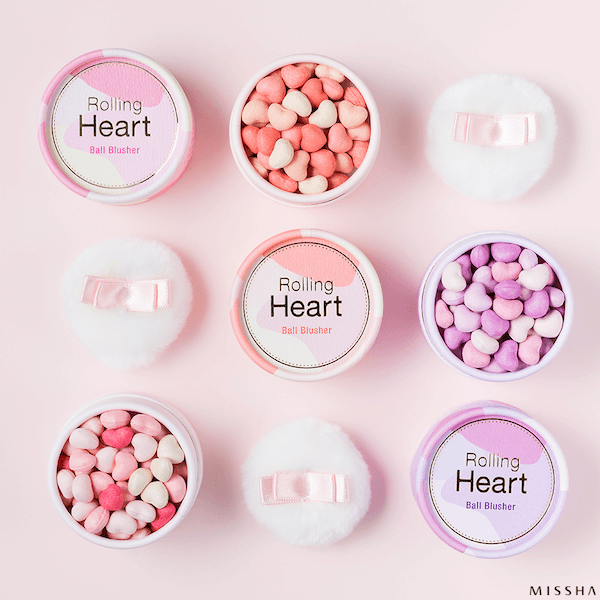 Rolling Heart Ball Blusher 1