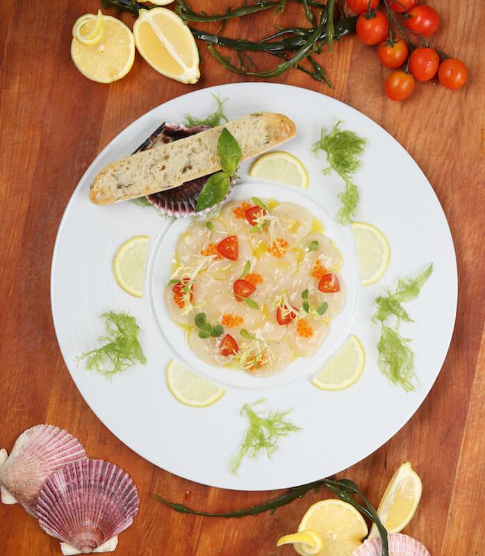 令你胃口大開的海鮮餐!cafe deco夏日滋味巡禮 令你胃口大開的海鮮餐!Cafe Deco夏日滋味巡禮 Ceviche of Hokkaido Sea Scallop with Trout Caviar