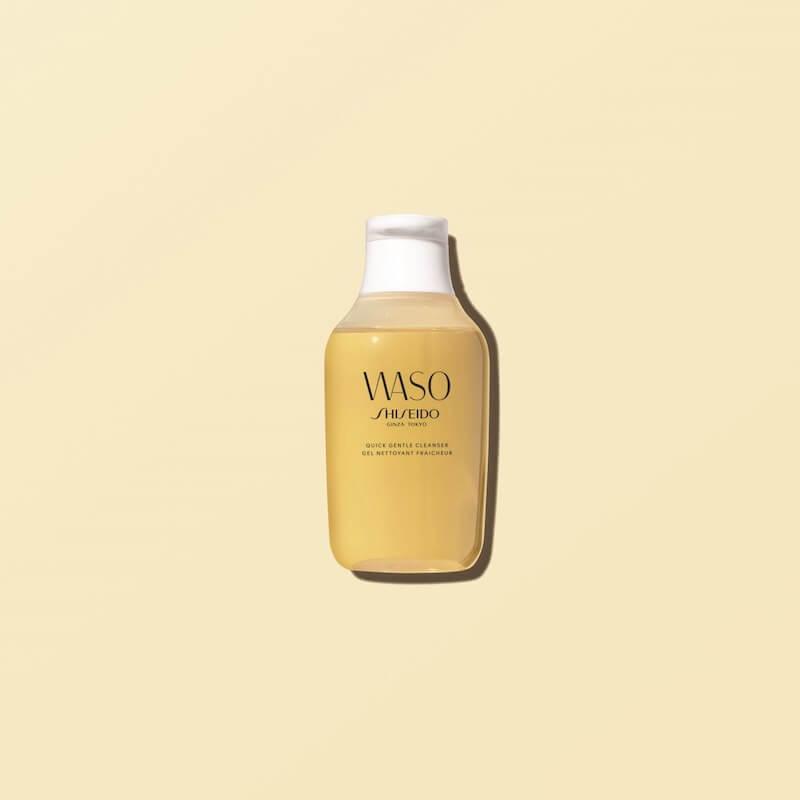 大自然力量注入!shiseido waso純淨天然修護系列 - SHISEIDO WASO Quick Gentle Cleanser visual - 大自然力量注入!SHISEIDO WASO純淨天然修護系列