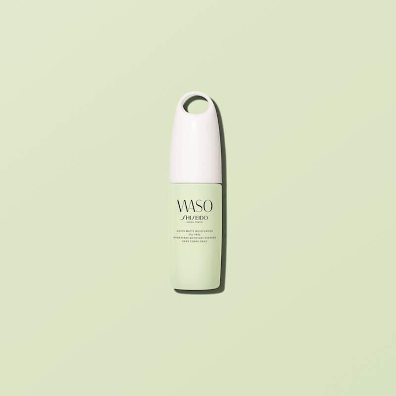 大自然力量注入!shiseido waso純淨天然修護系列 - SHISEIDO WASO Quick Matte Moisturizer Oil free visual - 大自然力量注入!SHISEIDO WASO純淨天然修護系列
