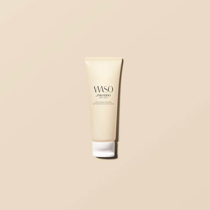 大自然力量注入!shiseido waso純淨天然修護系列 - SHISEIDO WASO SoftCushy Polisher visual - 大自然力量注入!SHISEIDO WASO純淨天然修護系列