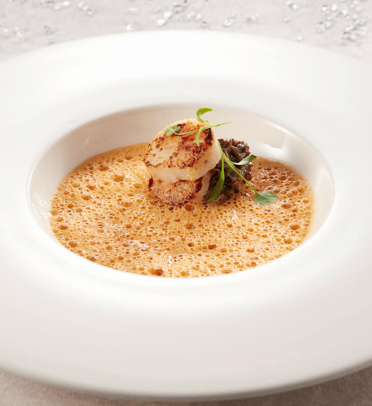 - Lobster Bisque with Seared Scallop and Morel - 1蚊歎龍蝦!Watermark 10週年海鮮盛宴