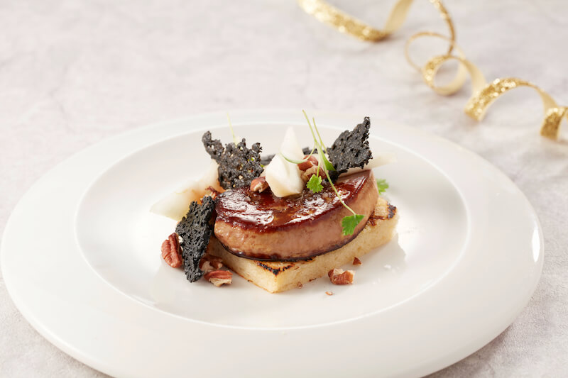 - Pan fried Foie Gras with Pear and Pecan - 1蚊歎龍蝦!Watermark 10週年海鮮盛宴