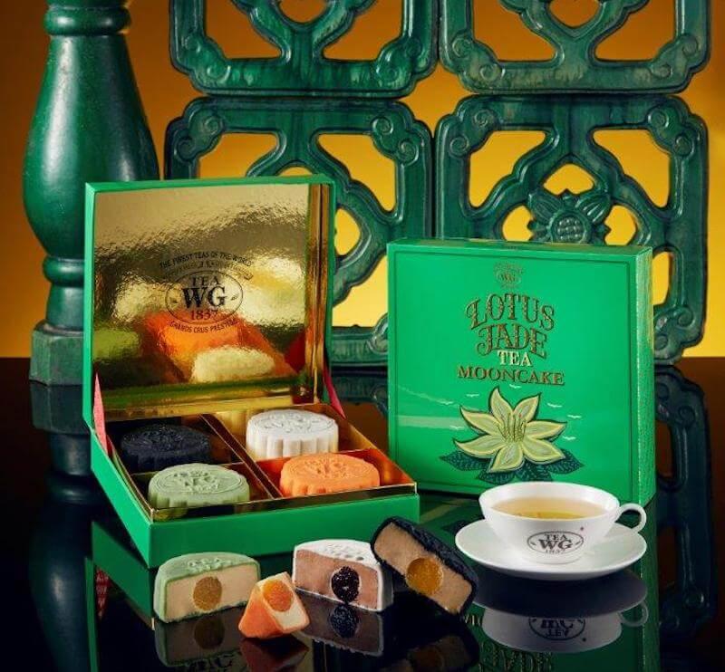 editor's picks ✤ 茶味、甜品味、素食都有!創新月餅陪你過中秋 - Tea WG Snowskin Mooncakes in Box of 4 1 - Editor's Picks ✤ 茶味、甜品味、素食都有!創新月餅陪你過中秋