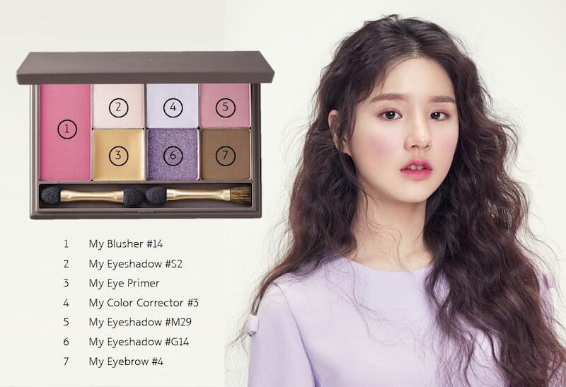 自組彩妝盤my palette!137款色任你揀 自組彩妝盤My Palette!137款色任你揀 Heejin with product
