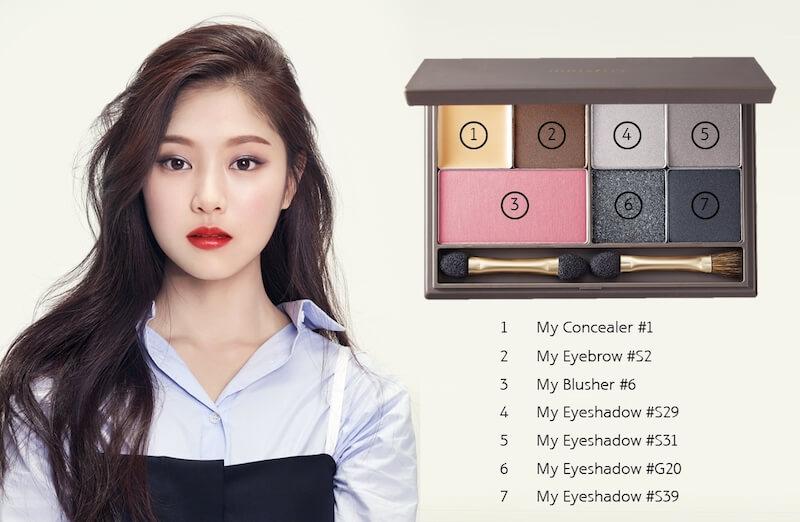 自組彩妝盤my palette!137款色任你揀 自組彩妝盤My Palette!137款色任你揀 Hyunjin with product