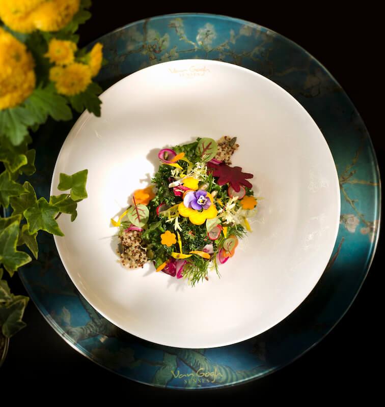 [object object] 用五感體驗藝術!全球首間梵高主題藝術空間試業開放中 Pumpkin Sunflower Seed Superfoods Grain Kale Salad