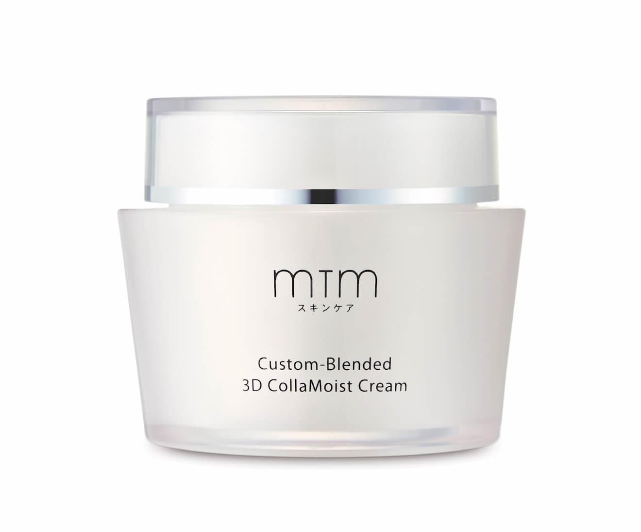 啟動3d肌密!mtm custom-blended 3d collamoist系列 啟動3D肌密!MTM Custom-Blended 3D CollaMoist系列 MTM CB 3D CollaMoist Cream