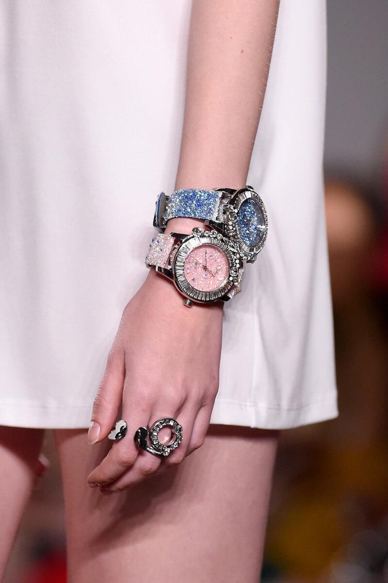 超閃!galtiscopio迦堤浪漫派水晶腕錶 超閃!GALTISCOPIO迦堤浪漫派水晶腕錶 844362840