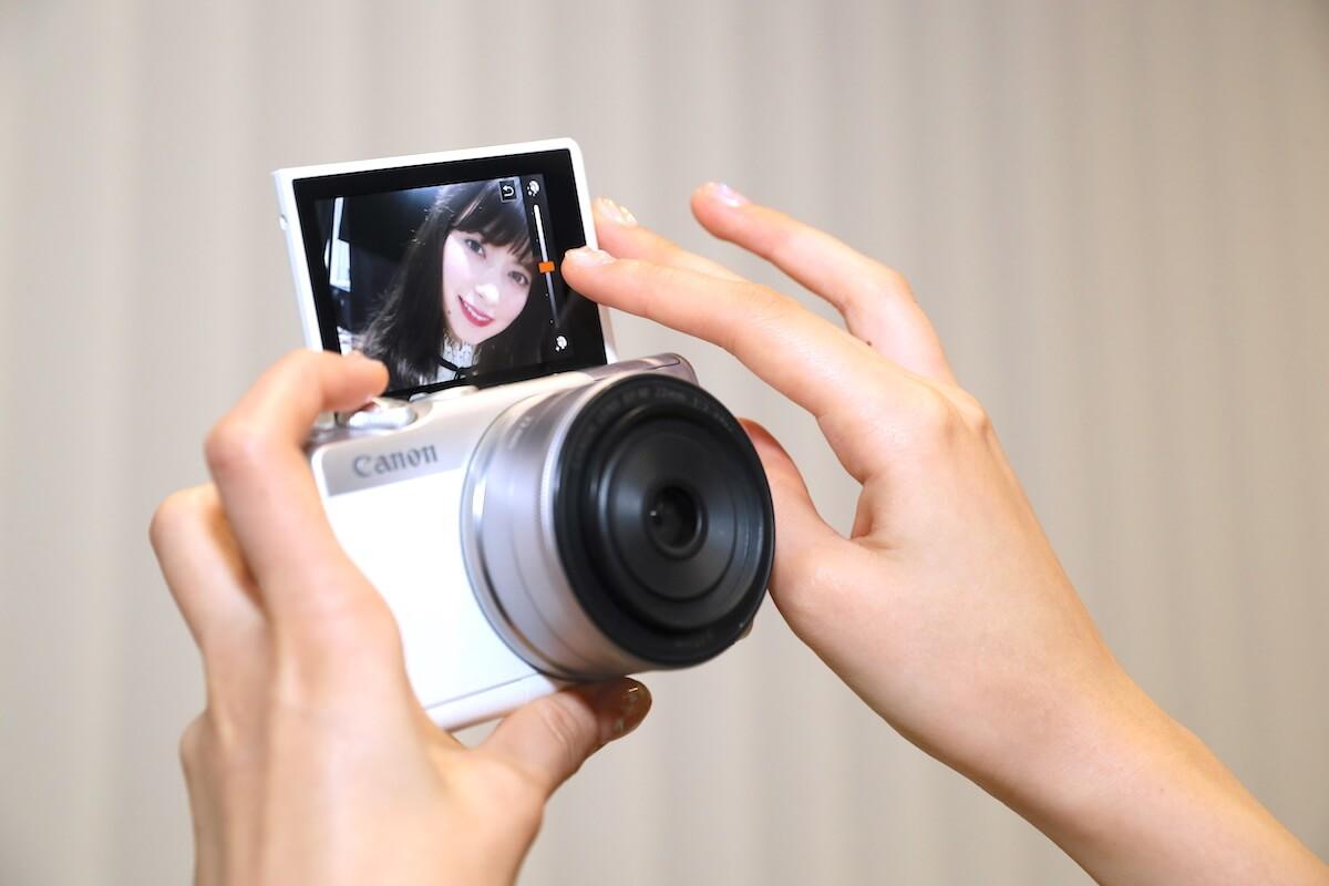 零死角自拍!影靚ig相神器canon eos m100 - Canon EOS M100 Caption 5 - 零死角自拍!影靚IG相神器Canon EOS M100