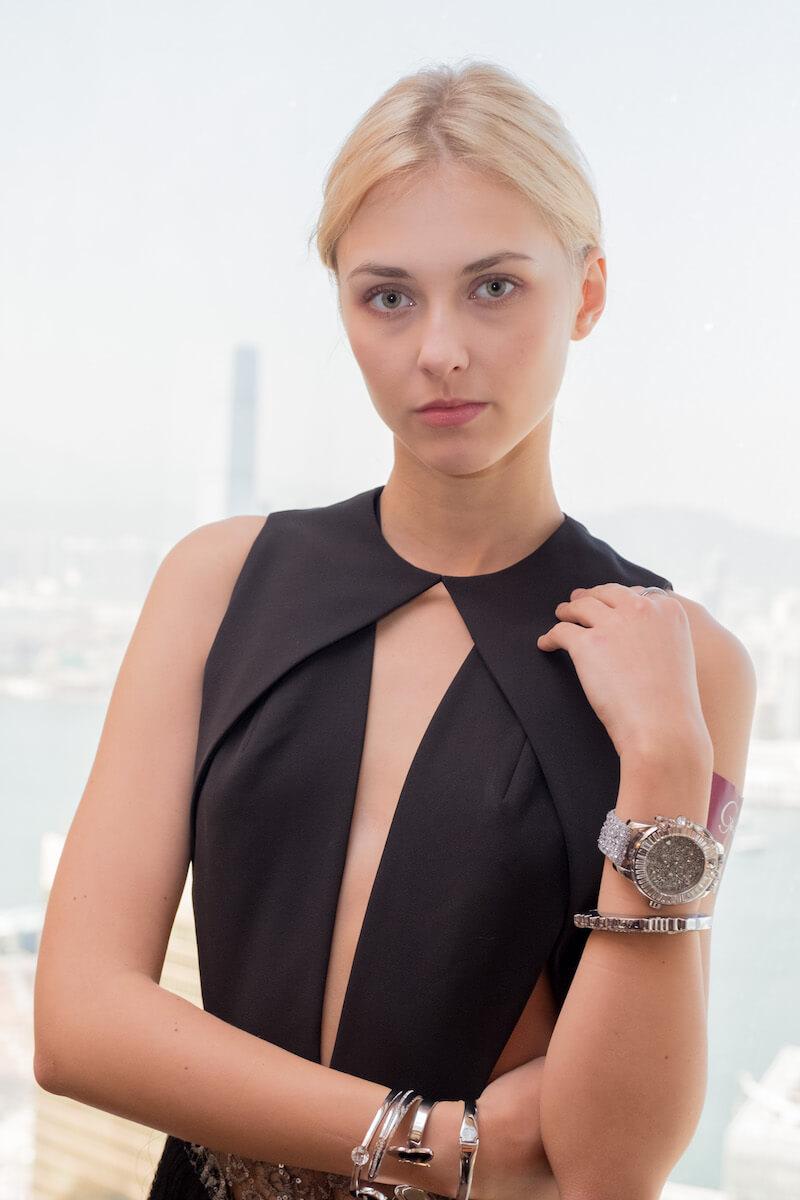 超閃!galtiscopio迦堤浪漫派水晶腕錶 超閃!GALTISCOPIO迦堤浪漫派水晶腕錶 DSCF0317
