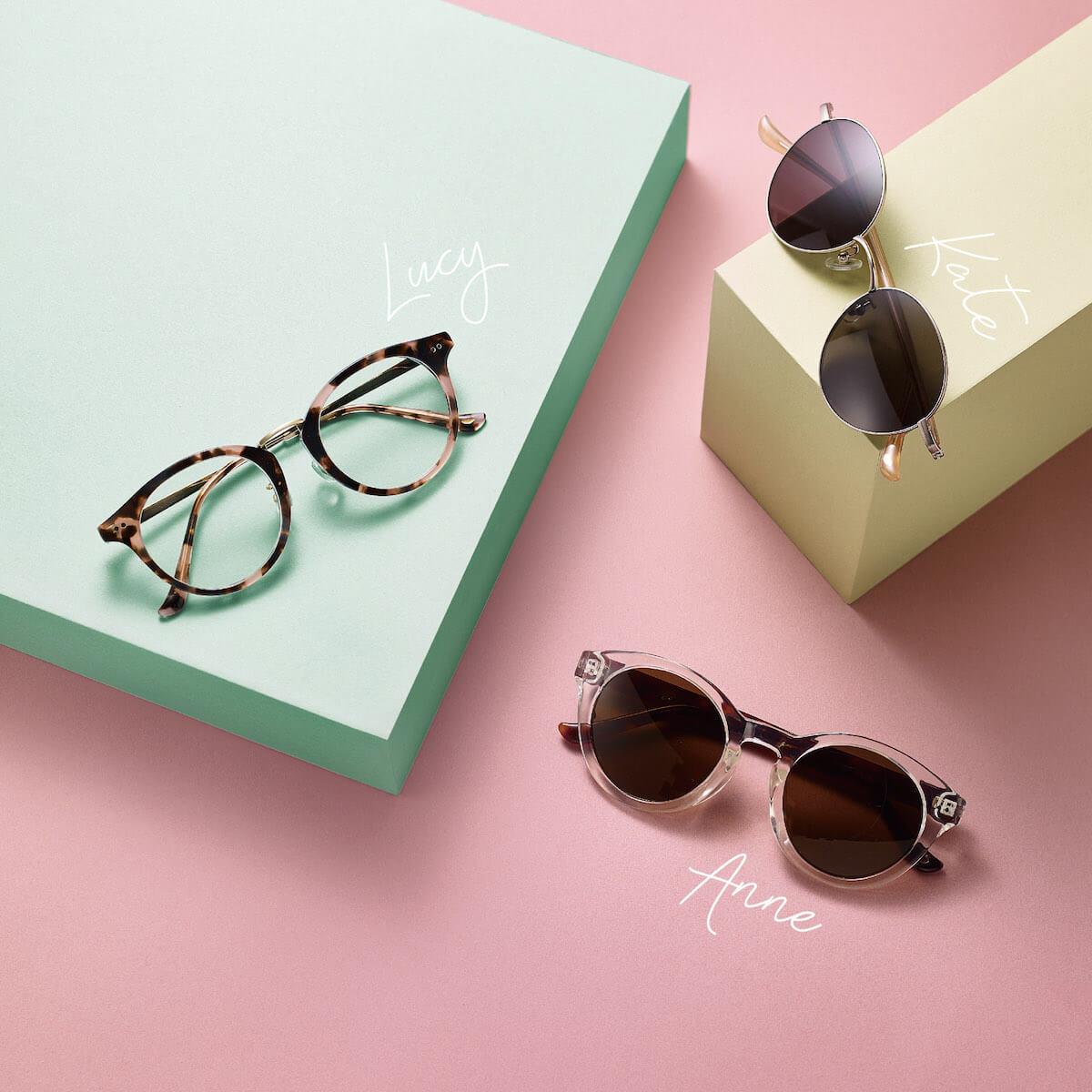 緊貼日本眼鏡潮流!時尚品牌zoff登陸香港 - ZoffXNina Tanaka a - 緊貼日本眼鏡潮流!時尚品牌Zoff登陸香港