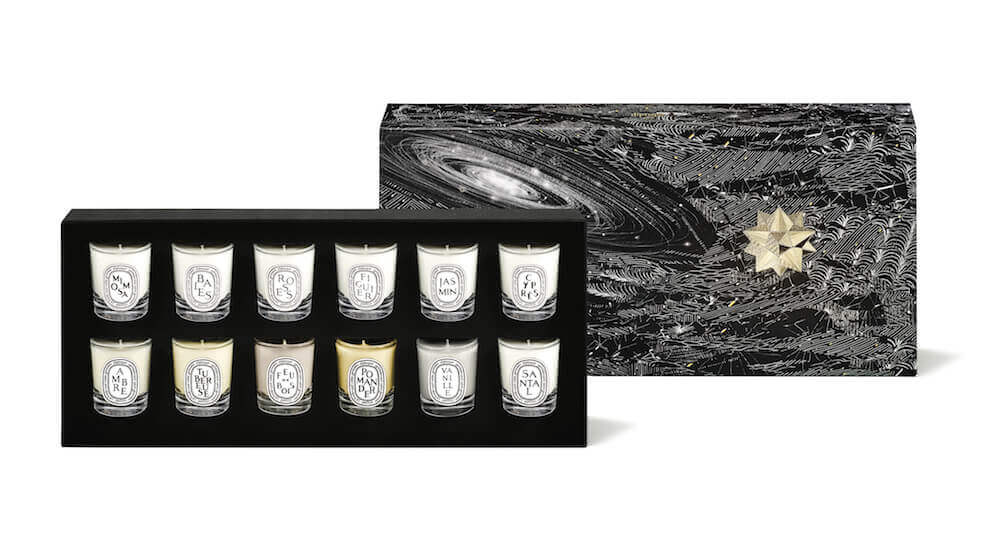 [object object] 節日必備香氣!diptyque x Philippe Baudelocque限量聖誕系列 Set Candles 12 x 35g