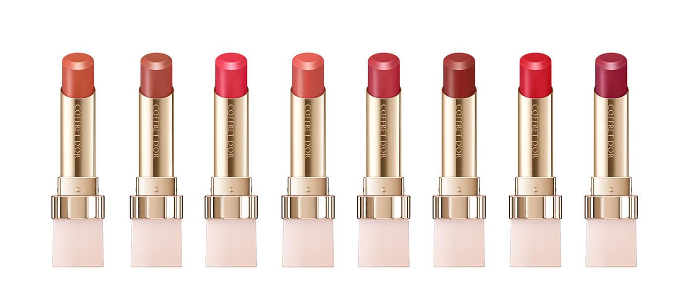 塑造超級自然素肌光感!coffret d'or彩妝系列 塑造超級自然素肌光感!Coffret D'or彩妝系列 lipstick01