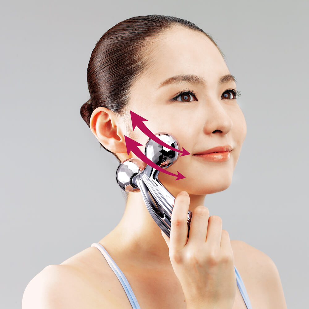 美容滾輪不止可V面!學會9個使用方法令皮膚全面緊緻、提升、去水腫 ReFa CARAT RAY Instruction for Face