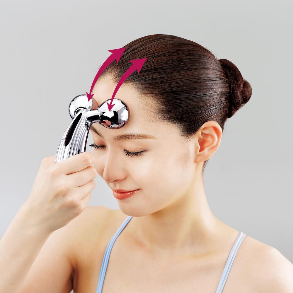 美容滾輪不止可V面!學會9個使用方法令皮膚全面緊緻、提升、去水腫 ReFa CARAT RAY Instruction for Head