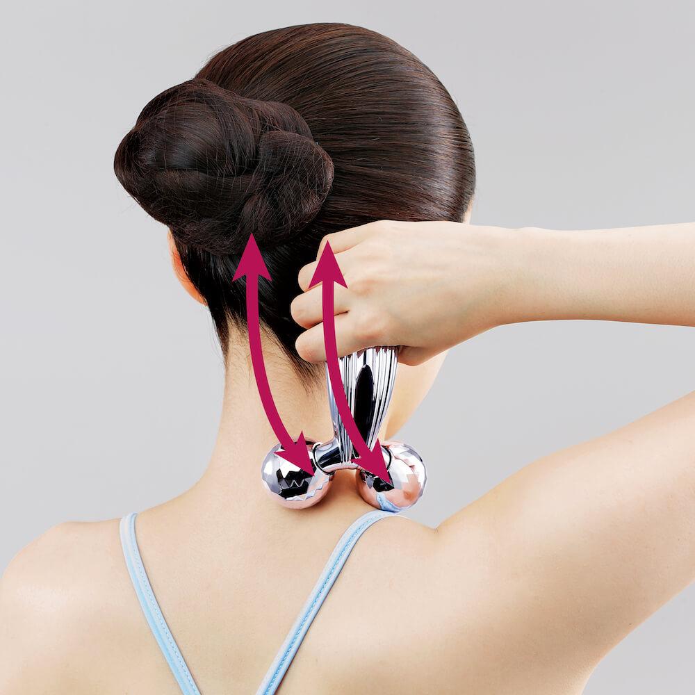 美容滾輪不止可V面!學會9個使用方法令皮膚全面緊緻、提升、去水腫 ReFa CARAT RAY Instruction for Neck