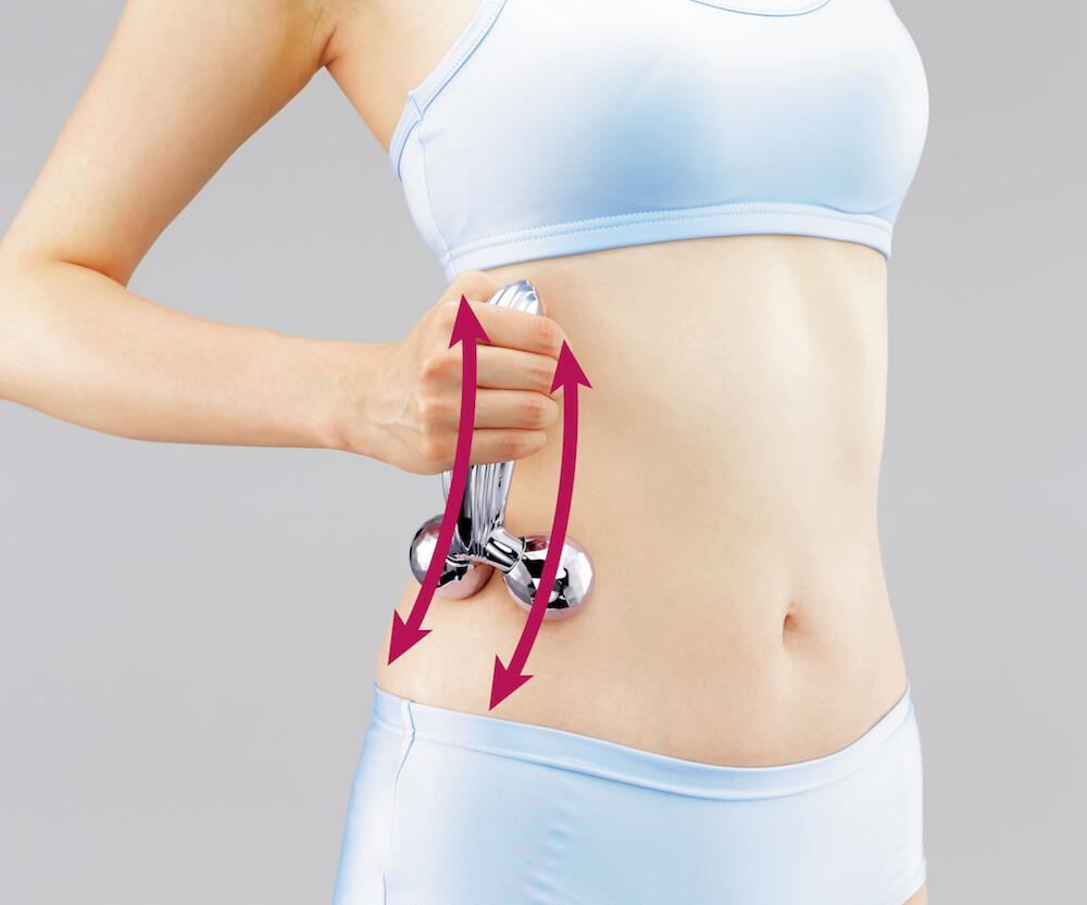 美容滾輪不止可V面!學會9個使用方法令皮膚全面緊緻、提升、去水腫 ReFa CARAT RAY Instruction for Waist