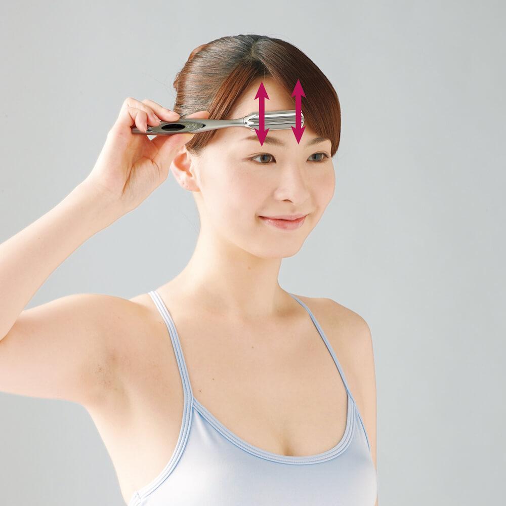 美容滾輪不止可V面!學會9個使用方法令皮膚全面緊緻、提升、去水腫 ReFa I STYLE Instruction for Head