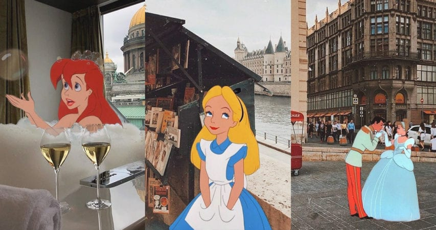 迪士尼公主帶你環遊世界!怎樣的旅遊方式最適合她們呢?