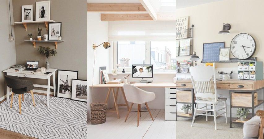 Home Office總是容易分心?簡約工作桌擺設加強辦公效率