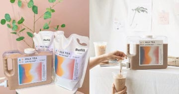 泰國居然有奶茶店推出3L的特大裝奶茶,令港台的奶茶粉絲也大感羨慕!