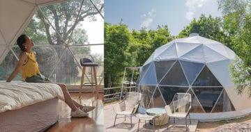 對露營新手來說,一些設備齊全的豪華營或是不錯的選擇,另類的staycation或許讓你更難忘!