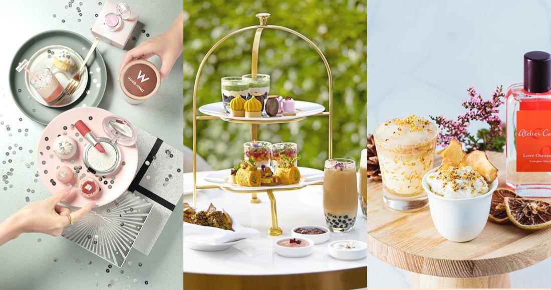 酒店的期間限定下午茶又來了!來推介5款充滿秋冬節日特色的聯乘下午茶給大家,來約閨密一起去吧!