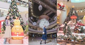 快到聖誕節,在香港都能夠感到濃厚的節日氣氛,因為各個商場的聖誕裝飾都已準備好,等大家來打卡了!