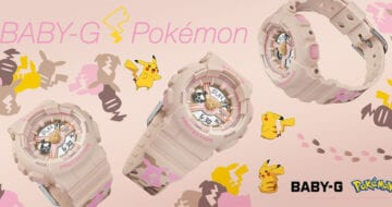 BABY-G × POKEMON聯名手錶