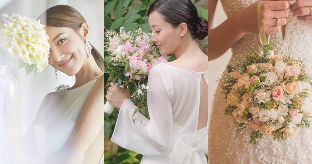 美麗的花朵令婚禮生色不少,而花球款式和選擇都非常多。來從考慮款式類型開始,決定你大日子的花球吧!